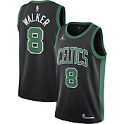 Jordan Men's Boston Celtics Kemba Walker #8 2020-21 Dri-FIT Statement Swingman Black Jersey