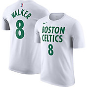 Nike Men's 2020-21 City Edition Boston Celtics Kemba Walker #8 Cotton T-Shirt