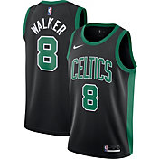 Nike Men's Boston Celtics Kemba Walker #8 Black Dri-FIT Statement Swingman Jersey