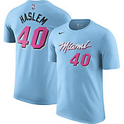 Nike Men's Miami Heat Udonis Haslem #40 Blue Dri-FIT City Edition T-Shirt