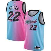 Nike Men's 2020-21 City Edition Miami Heat Jimmy Butler #22 Dri-FIT Swingman Jersey