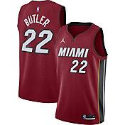 Jordan Men's Miami Heat Jimmy Butler #22 Red 2020-21 Dri-FIT Statement Swingman Jersey