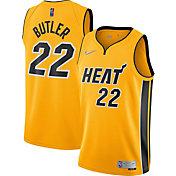 Nike Men's Miami Heat 2021 Earned Edition Jimmy Butler  Dri-FIT Swingman Jersey