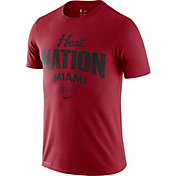 Nike Men's Miami Heat Red Dri-FIT Mantra T-Shirt