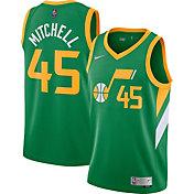 Nike Men's Utah Jazz 2021 Earned Edition Donovan Mitchell  Dri-FIT Swingman Jersey