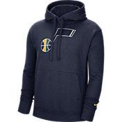 Nike Men's Utah Jazz Navy Pullover Hoodie