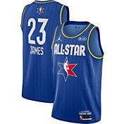 Jordan Men's 2020 NBA All-Star Game Lebron James Blue Dri-FIT Swingman Jersey