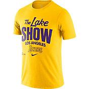 Nike Men's Los Angeles Lakers Gold Dri-FIT Mantra T-Shirt