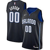 Nike Men's Orlando Magic Aaron Gordon #00 Black Dri-FIT Icon Jersey