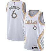 Nike Men's 2020-21 City Edition Dallas Mavericks Kristaps Porzingis #6 Dri-FIT Swingman Jersey