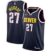 Nike Men's Denver Nuggets Jamal Murray #27 Navy Icon Jersey