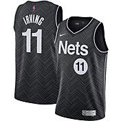 Nike Men's Brooklyn Nets 2021 Earned Edition Kyrie Irving Dri-FIT Swingman Jersey