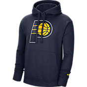 Nike Men's Indiana Pacers Navy Pullover Hoodie