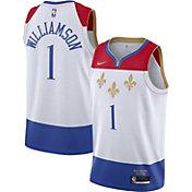 Nike Men's 2020-21 City Edition New Orleans Pelicans Zion Williamson #1 Dri-FIT Swingman Jersey