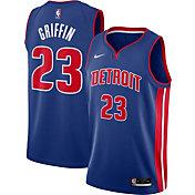 Nike Men's Detroit Pistons Blake Griffin #23 Blue Icon Jersey