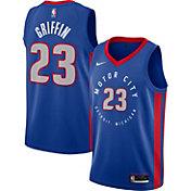 Nike Men's 2020-21 City Edition Detroit Pistons Blake Griffin #23 Dri-FIT Swingman Jersey