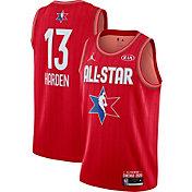 Jordan Men's 2020 NBA All-Star Game James Harden Red Dri-FIT Swingman Jersey