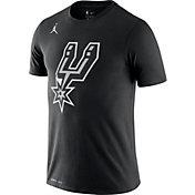 Jordan Men's San Antonio Spurs Dri-FIT Statement Edition Black T-Shirt