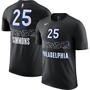 Nike Men's 2020-21 City Edition Philadelphia 76ers Ben Simmons #25 Cotton T-Shirt
