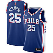 Nike Men's Philadelphia 76ers Ben Simmons #25 Blue Icon Jersey