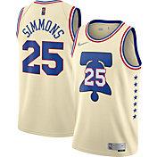 Nike Men's Philadelphia 76ers 2021 Earned Edition Ben Simmons  Dri-FIT Swingman Jersey