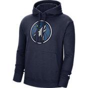 Nike Men's Minnesota Timberwolves Navy Pullover Hoodie
