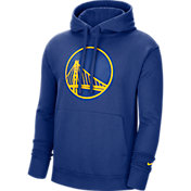 Nike Men's Golden State Warriors Blue Pullover Hoodie