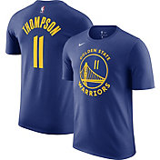 Nike Men's Golden State Warriors Klay Thompson #11 Blue Cotton T-Shirt
