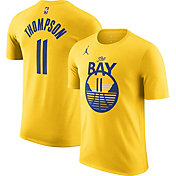 Jordan Men's Golden State Warriors Klay Thompson #11 Golf Statement T-Shirt