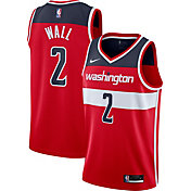 Nike Men's Washington Wizards John Wall #2 Red Icon Jersey