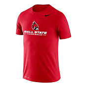 Nike Men's Ball State Cardinal Logo Legend Performance T-Shirt