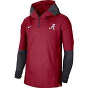 Nike Men's Alabama Crimson Tide Crimson Lightweight Football Sideline Player's Jacket