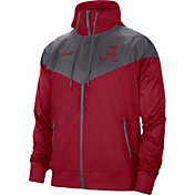 Nike Men's Alabama Crimson Tide Crimson Windrunner Jacket