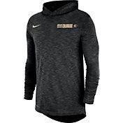 Nike Men's Colorado Buffaloes Dri-FIT Slub Long Sleeve Hooded Black T-Shirt