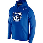 Nike Men's Creighton Bluejays Blue Club Fleece Pullover Hoodie