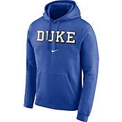 Nike Men's Duke Blue Devils Duke Blue Club Arch Pullover Fleece Hoodie