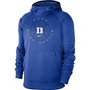 Nike Men's Duke Blue Devils Duke Blue Spotlight Basketball Pullover Hoodie