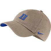 Nike Men's Duke Blue Devils Tan Washed Heritage86 Hat