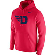 Nike Men's Dayton Flyers Red Club Fleece Pullover Hoodie