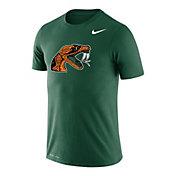 Nike Men's Florida A&M Green Logo Legend Performance T-Shirt