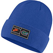 Nike Men's Florida Gators Blue Throwback Patch Cuffed Knit Beanie