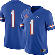 Jordan Men's Florida Gators #1 Blue Dri-FIT Limited Football Jersey