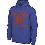 Nike Men's Florida Gators Blue Pullover Football Hoodie