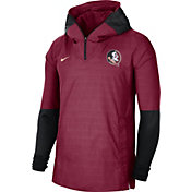 Nike Men's Florida State Seminoles Garnet Lightweight Football Sideline Player's Jacket