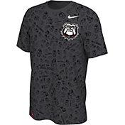 Nike Men's Georgia Bulldogs '100th Anniversary' Black T-Shirt