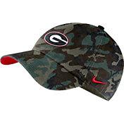 Nike Men's Georgia Bulldogs Camo Washed Heritage86 Hat