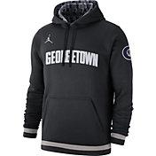 Jordan Men's Georgetown Hoyas Club College Pullover Fleece Black Hoodie