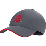 Nike Men's Ohio State Buckeyes Gray Legacy91 Shield Adjustable Hat