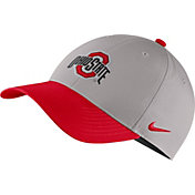 Nike Men's Ohio State Buckeyes Gray/Scarlet Legacy91 Adjustable Hat