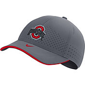 Nike Men's Ohio State Buckeyes Grey Low-Pro L91 Adjustable Hat